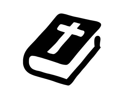 christelijk zwartwit klein